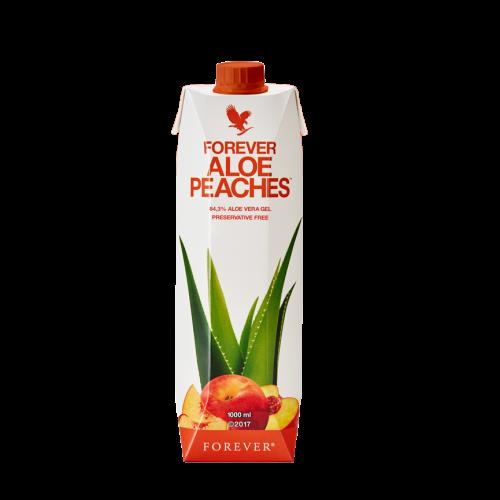 Aloe Bits N'Peaches - Forever aloes do picia z brzoskwiniami w kartonie 1 litr bez konserwantów